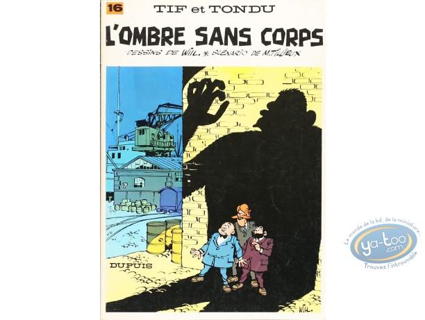 Listed European Comic Books, Tif et Tondu : L'ombre sans Corps