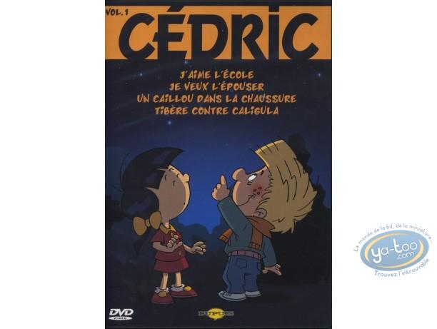 DVD, Cedric : Cédric : Volume 1 - 4 épisodes