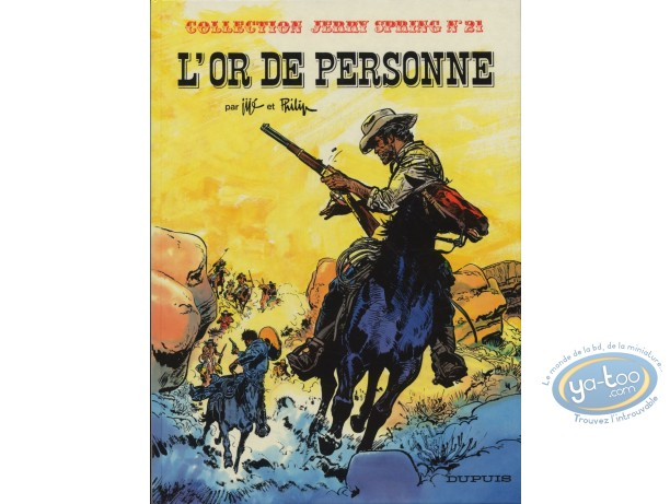 Reduced price European comic books, Jerry Spring : T21 L'Or de Personne