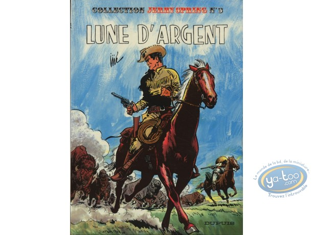 Reduced price European comic books, Jerry Spring : T3 Lune d'Argent