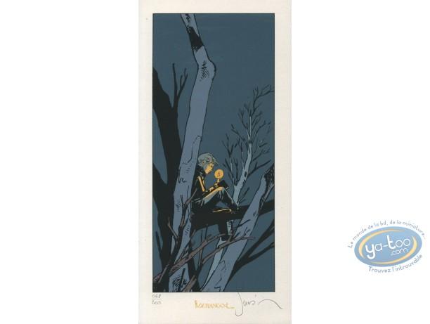 Bookplate Serigraph, Esprit de Warren (L') : Candle