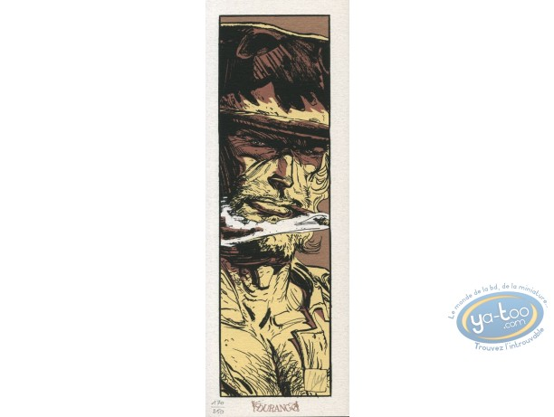 Serigraph Bookmark, Wayne Redlake : Portrait