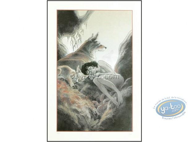 Offset Print, Zoo : Manon sleeping