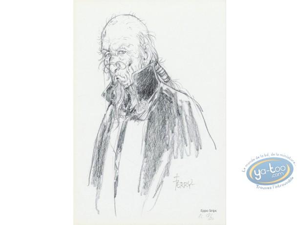 Bookplate Offset, Chroniques de Panchrysia (Les) : Man with a cape