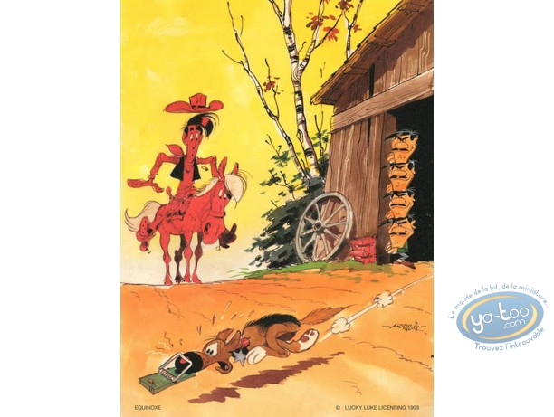 Offset Print, Lucky Luke : Mousetrap