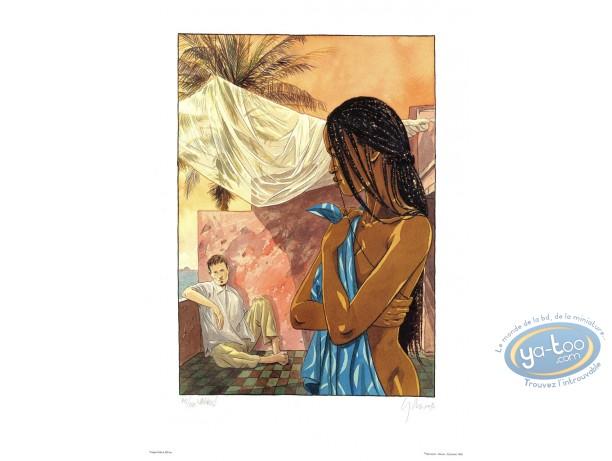 Offset Print, Equatoriales (Les) : Terrace