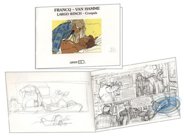 Sketchbook, Largo Winch : Largo Winch