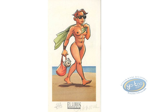 Bookplate Offset, Minoukinis (Les) : Naked Woman