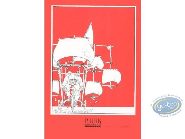 Bookplate Serigraph, Secret des Hommes Chiens (Le) : Le secret des hommes chiens