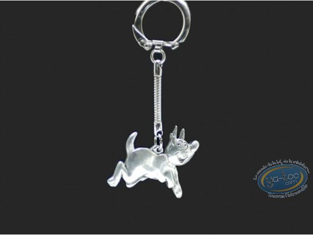 Metal Keyring, Sac à Puces : Dog