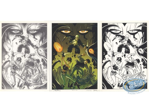 Bookplate Offset, Nemesis : Triptych