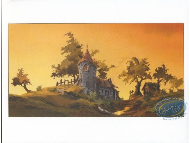 Bookplate Offset, Pitchi Poi : Orange Sky