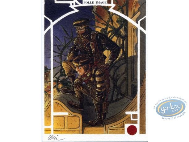 Bookplate Offset, Réseau Bombyce (Le) : Mouche & Eustache