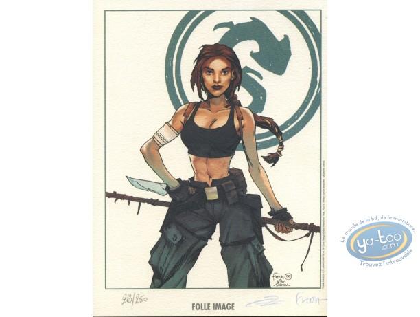 Bookplate Offset, Lara croft : Lara Croft