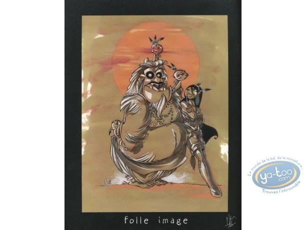 Bookplate Offset, Luuna : Monster
