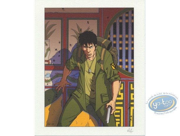 Bookplate Offset, Sam Lawry : Soldier