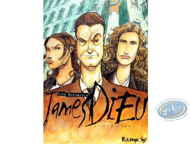 Used European Comic Books, James Dieu : Livre Second