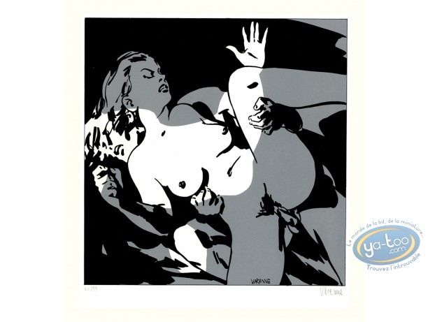 Serigraph Print, Corps à Corps : Body to body 12