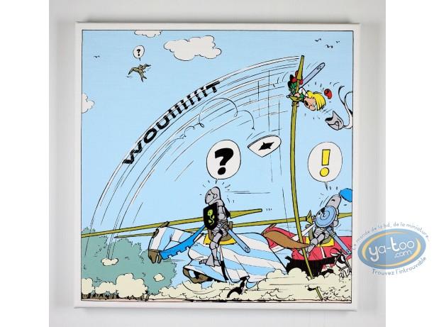 Printed Canvas, Johan et Pirlouit : The Joust