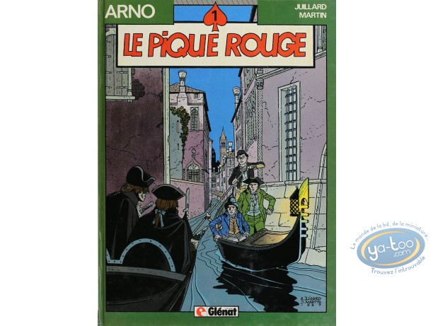 Listed European Comic Books, Arno : Le Pique Rouge (very good condition)