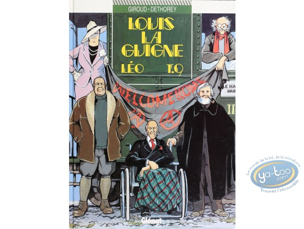 Listed European Comic Books, Louis la Guigne : Leo (very good condition)