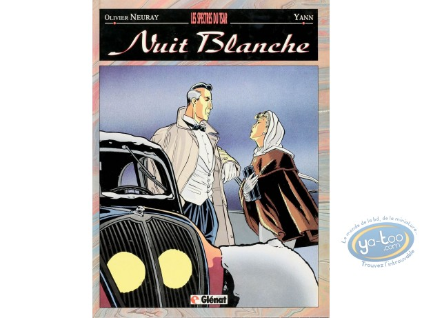 Listed European Comic Books, Nuit Blanche : Les Spectres du Tsar (+ bookplate)