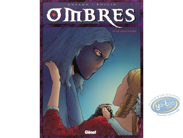 Listed European Comic Books, Ombres : Le solitaire (very good condition)