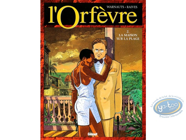 Listed European Comic Books, Orfèvre (L') : La Maison sur la Plage (dedication)