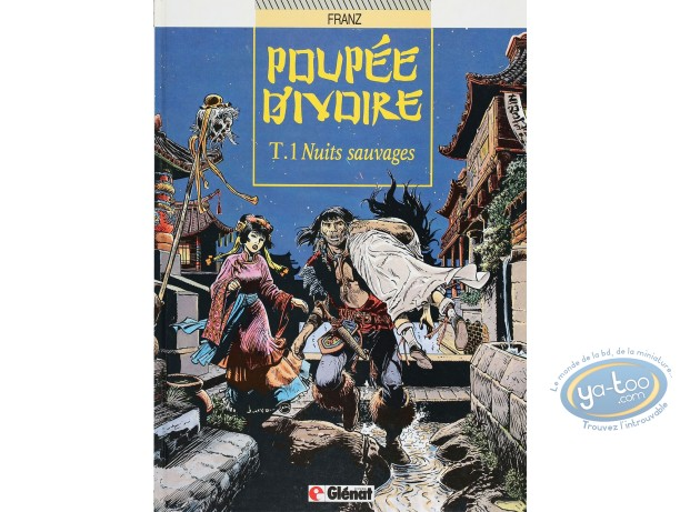 Listed European Comic Books, Poupée d'Ivoire : Nuits sauvages (very good condition)