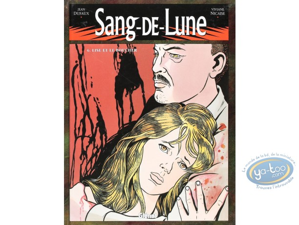 Listed European Comic Books, Sand de Lune : Lise et le boucher (good condition)