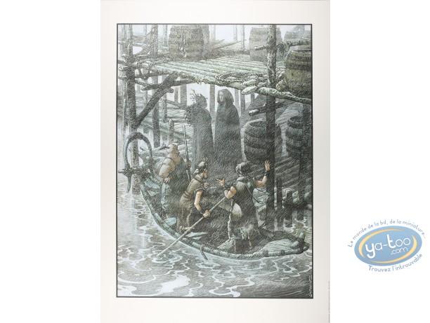 Offset Print, Quête de l'Oiseau du Temps (La) : L'ami Javin - Les Voiles d'Ecumes