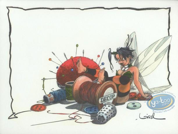 Offset Print, Peter Pan : Sewing Thread