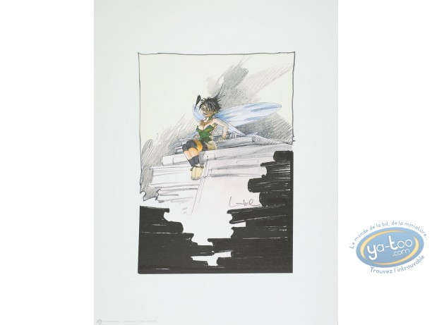Offset Print, Peter Pan : Bell at the library