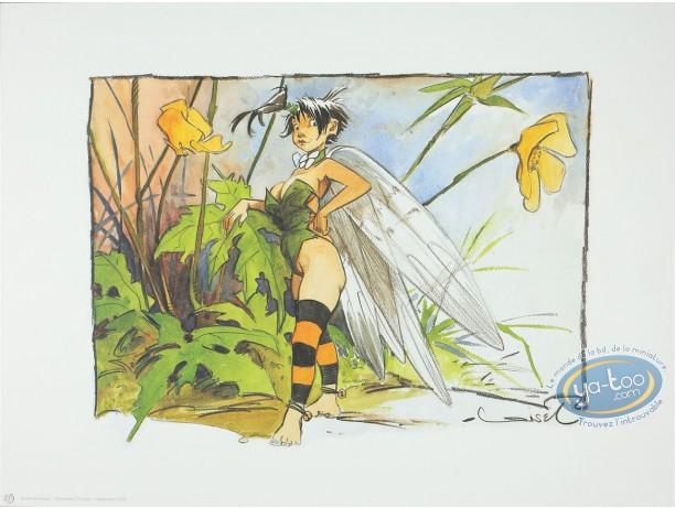 Offset Print, Peter Pan : Tinker Bell standing