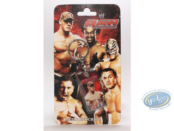 Metal Keyring, World Wrestling Entertainment : Metal keychain, The Stars of Wrestling: Johneena