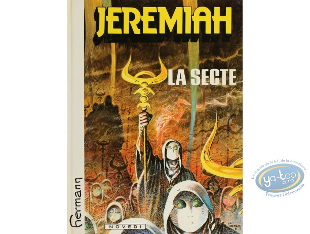 Listed European Comic Books, Jérémiah : La Secte (very good condition)