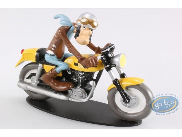 Resin Statuette, Joe Bar Team : Ted Debielle - Ducati 350 Desmo