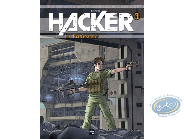 European Comic Books, Hacker : V1 - Destination Brésil