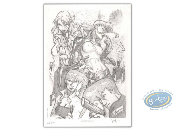 Bookplate Offset, Nemesis : Characters