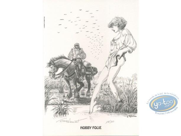 Bookplate Offset, Chemins de Malefosse (Les) : Near the river