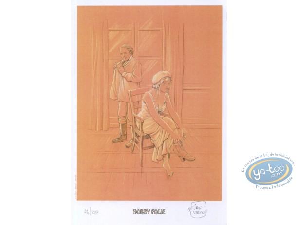 Bookplate Offset, Docteur Monge : After Love