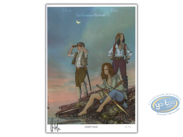 Bookplate Offset, Corsaires d'Alcibiade (Les) : Trio