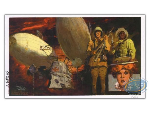 Bookplate Offset, Méridien des Brumes (Le) : Airship