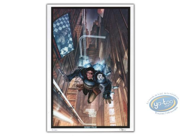 Bookplate Offset, Kookaburra : Dragan Preko in the air