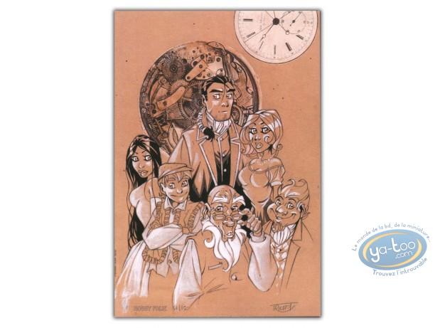 Bookplate Offset, Arcanes du Midi-Minuit (Les) : Complete Team