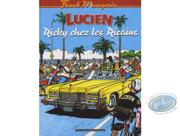 Used European Comic Books, Lucien : Tome 7 - Ricky chez les Ricains (occasion)