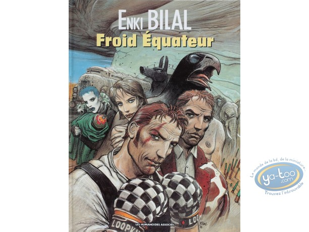 Listed European Comic Books, Trilogie Nikopol (La) : Froid Equateur (very good condition)