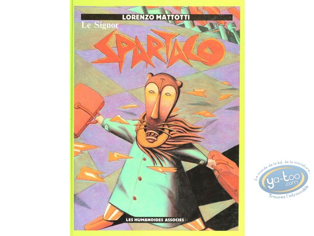 Listed European Comic Books, Signor Spartaco (Le) : Le Signor Spartaco