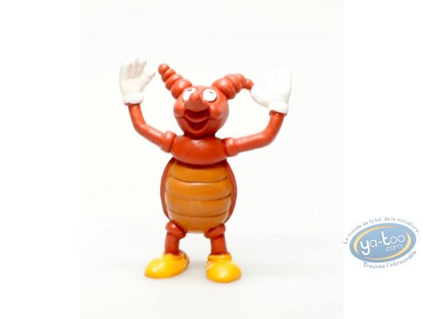 Plastic Figurine, Ferdy la fourmi : Plastic figure, Ferdy la fourmi : The scarabee
