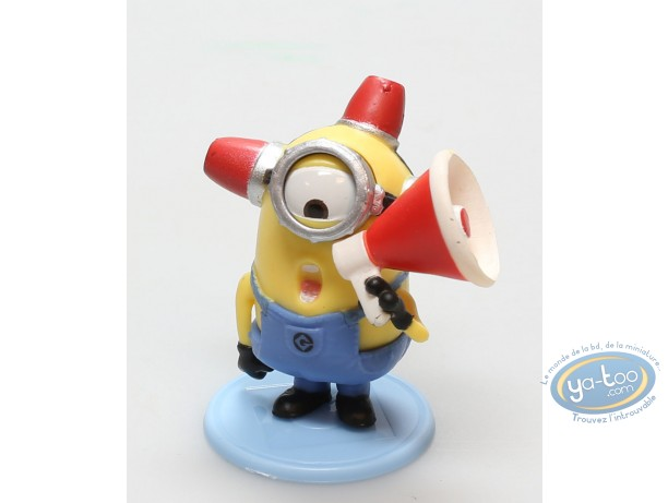 Plastic Figurine, Minions (Les) : Minion Fireman